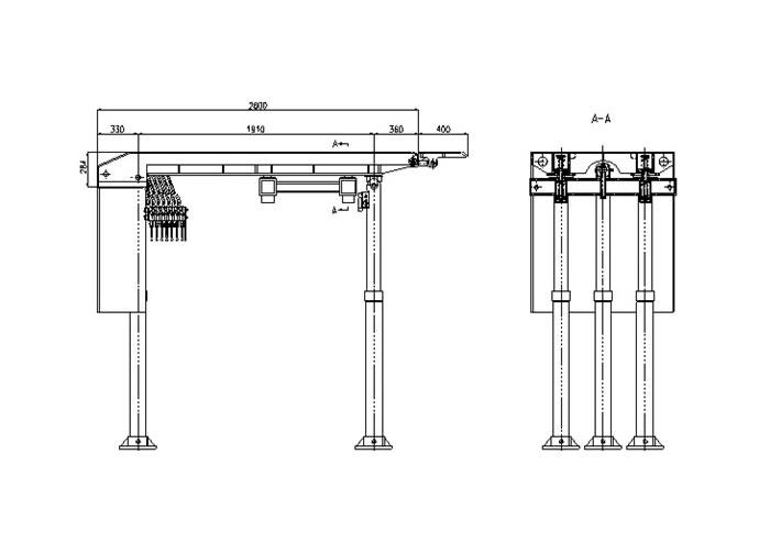 整体顶梁组合悬移betway手机版支架